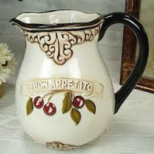 Decorative Pitchers Kitchen Decor U0026 Accessories Archives Tuscan Italian Decor