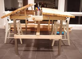 drafting table standing desk 14449