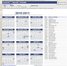 Excel 2010 Calendar Template Excel Perpetual Calendar Template Blank Calendar Design 2017