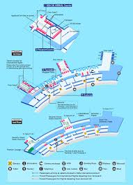 Hong Kong Airport Floor Plan by Airport Guide International At The Airport In Flight