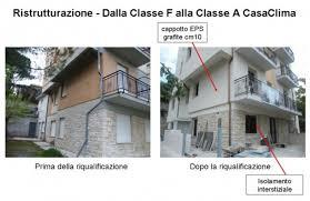 appartamenti classe a casaclima nel centro italia esempio di ristrutturazione di una