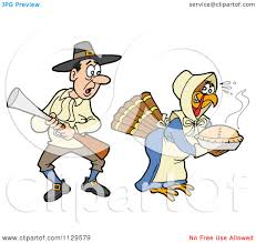 thanksgiving avatars cartoon of a thanksgiving turkey bird disguised as a pilgrim