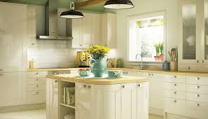 Kitchen Ideas Cream Cabinets Brown Wooden Chairs White Wall Mounted Kitchen Cabinet Wooden