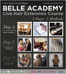 Hair Extension Birmingham by One To One Course Hair Extension Courses Belle Academy Belle Academy
