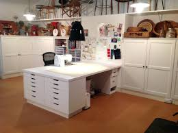 Art Studio Desk by Ikea Sewing Cabinet U2013 Adayapimlz Com