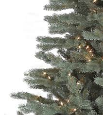savoy blue spruce artificial trees platinum collection
