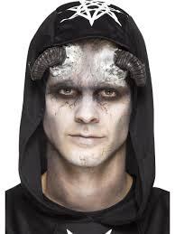 prosthetic halloween mask foam latex demon horn prosthetic 46786 fancy dress ball