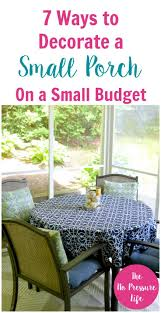 the 25 best small porch decorating ideas on pinterest small