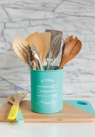 kitchen utensil canister kitchen utensils everything turquoise