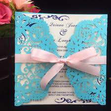 12pcs wedding invitations cards postcard printable laser cut