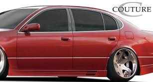 1998 lexus gs300 sedan 98 05 lexus gs vortex couture urethane side skirts body kit