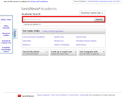 reliable websites for research papers academic legal research for students lexisnexis