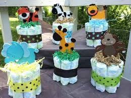 cool baby shower ideas charming baby shower decoration boy blue safari baby shower