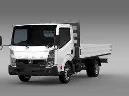 mitsubishi fuso mitsubishi fuso canter guts tipper 2015 3d model vehicles 3d