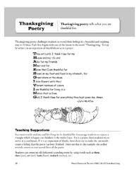 thanksgiving poetry by evan moor educational publishers tpt