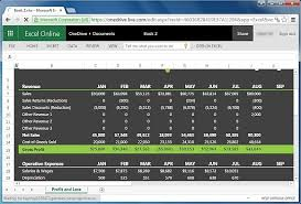 Profit And Loss Excel Template Free Free Financial Report Templates For Excel