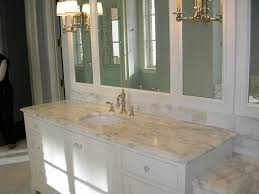 Ideas For Bathroom Vanity by Best Color For Granite Countertops And White Bathroom Cabinets
