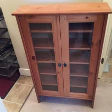 dvd cabinets with glass doors find more glass door cd dvd cabinet from ikea for sale at up to 90