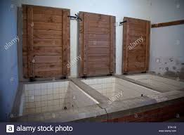 struthof chambre à gaz l alsace natzweiler c du struthof chambre à gaz banque d images