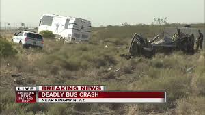 4 dead in arizona crash on us 93 involving dallas cowboys tour bus