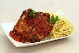 cuisiner travers de porc recette de travers de porc marinés comme des ribs tagliatelles