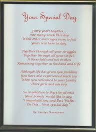 40th wedding anniversary gift ideas wedding anniversary 40th wedding anniversaryts for parents