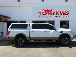 white nissan truck leer 100xl topperking topperking providing all of tampa bay