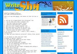write shy denim 3 0 xml blogger template