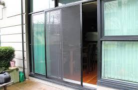 Sliding Patio Door Screens Best Double Sliding Patio Doors With Screens With Wizard Screen