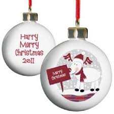 8 best personalised christmas decorations images on pinterest
