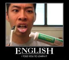 Meme In English - english is important meme slapcaption com english fun