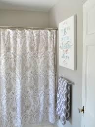 Neutral Shower Curtains Curtain Bathroom Curtain Rods Restoration Hardware Shower