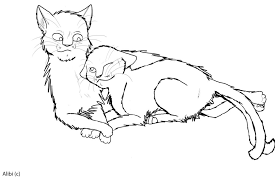 warrior cats coloring pages sad warrior cats coloring pages fancy acpra