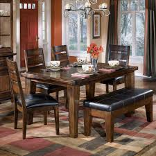 Western Dining Room Table Awesome Wood Dining Room Table With Bench 88 In Patio Dining Table