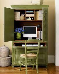 Small Computer Armoire Desk by Captivating Wooden Vintage Computer Desk Armoire Presenting Pale
