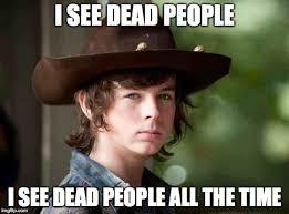 Walking Dead Meme Carl - carl walking dead memes imgflip