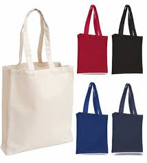 promotion full color custom printed canvas tote bag with your own