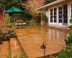 Backyard Cement Ideas Cement Patio Houzz