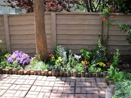 borders for small flower gardens patio garden flowerbed part