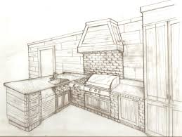 Kitchen Design Drawings Kitchen Design Interior Design Sketches Kitchen This Is The On