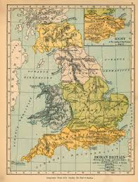 Roman Map Map Of Roman Britain 400