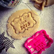 new year cookie cutters free happy new year cookie cutter 3d model cults