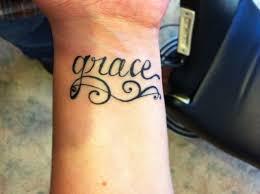 wrist grace tattoo bing images tattoo ideas pinterest