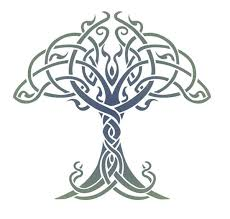 celtic tree of stencil designs from stencil kingdom all