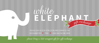 best gift exchange ideas best white elephant christmas party invitations 80 for your card