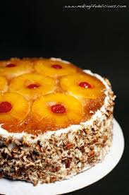double layer pineapple upside down cake had to pin this this