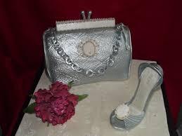 Wedding Cake Joke Glamourous Purse And Shoe Cake Cakecentral Com