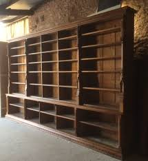 Large Bookcases A Large Gothic Oak Bookcase Antiques To Vintage Ideas For The