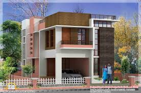 modern home elevation with plan 1850 sq ft kerala home design