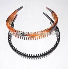 hair clasp fashion hair accessories brown black hair comb plastic headband